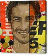 Mats Hummels Acrylic Print by Corporate Art Task Force