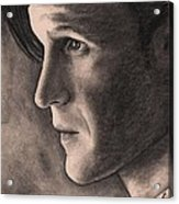 Matt Smith Acrylic Print