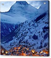 Matterhorn At Twilight Acrylic Print