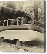 Matterhorn Bobsled Fantasyland Disneyland Heirloom Acrylic Print