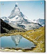 Matterhorn Cervin Reflection Acrylic Print