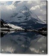 Matterhorn Reflection From Riffelsee Lake Acrylic Print by Jetson Nguyen