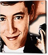 Matthew Broderick In Ferris Bueller's Day Off  Acrylic Print