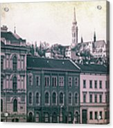 Matthias Church And Vizivaros Acrylic Print