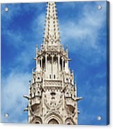 Matthias Church Bell Tower In Budapest Acrylic Print