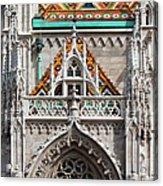 Matthias Church In Budapest Acrylic Print