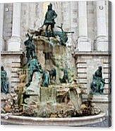 Matthias Fountain In Budapest Acrylic Print