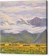 Matukituki Valley Acrylic Print