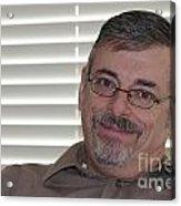 Mature Man Looking At Viewer Acrylic Print