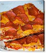 Matza Pizza Acrylic Print