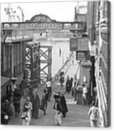 Maude Bridge In Baghdad Acrylic Print