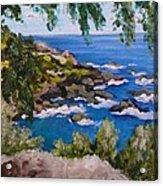 Maui Cliff Acrylic Print