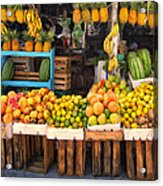 Maui Fruits And Vegetables Acrylic Print