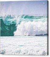 Maui Huge Wave Acrylic Print by Denis Dore