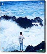 Maui Shore At The Keanae Pennisula 2 Acrylic Print