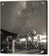 Mauna Kea Stargazing Acrylic Print