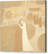 Maurice Denis French, 1870 - 1943. The Visitation La Acrylic Print