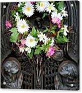 Mausoleum Mosaic Acrylic Print