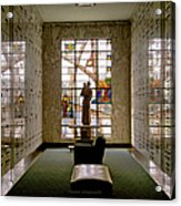 Mausoleum Stained Glass 04 Acrylic Print