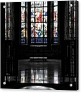 Mausoleum Stained Glass 05 Acrylic Print