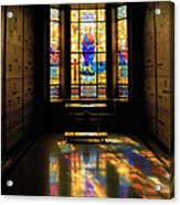 Mausoleum Stained Glass 06 Acrylic Print