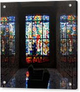 Mausoleum Stained Glass 07 Acrylic Print