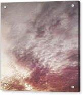 Mauve Skies Acrylic Print