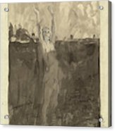 Max Klinger German, 1857 - 1920, Und Doch Acrylic Print