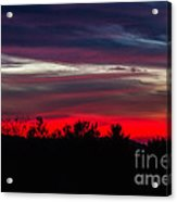Max Patch Sunset Acrylic Print