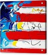 Max Stars And Stripes Acrylic Print
