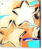 Max Two Stars In Inverted Colors Acrylic Print