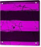 Max Woman In Purple Acrylic Print