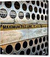 Maximum Fill Acrylic Print