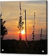 May 3 2013 Sunset Acrylic Print