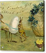 May Easter Joy Attend You Acrylic Print