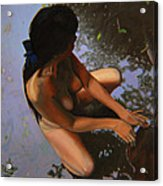 May Morning Arkansas River Acrylic Print