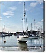 May Morning - Lyme Regis 2 Acrylic Print
