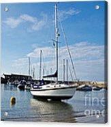May Morning - Lyme Regis Acrylic Print