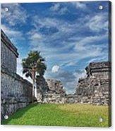 Mayan Memories Acrylic Print