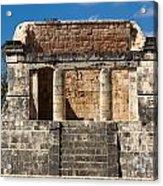 Mayan Palace Acrylic Print