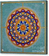 Mayan Shield Acrylic Print