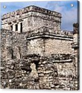 Mayan Tulum Acrylic Print