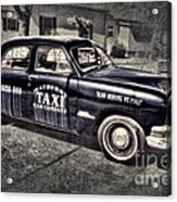 Mayberry Taxi Acrylic Print