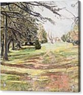 Maymont Landscape Acrylic Print