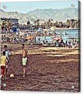 Mazarron Beach - Murcia Spain Acrylic Print