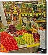 Mazatlan Centro Market-sinaloa Acrylic Print