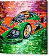 Mazda 787b.1991 Le Mans Winner. Acrylic Print
