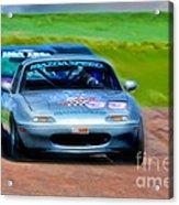 Mazda Speed Acrylic Print