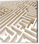 Maze Acrylic Print