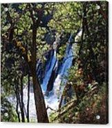 Mcarthur-burney Falls Side View Acrylic Print